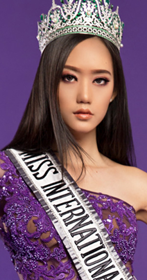 Miss Indonesia Felicia Hwang age24