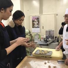 筒井菜月とミス・インターナショナル2016 カイリー・バーゾサによる徳島訪問2日目