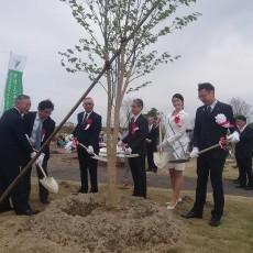 トヨペットふれあいグリーンキャンペーンin新潟県三条市