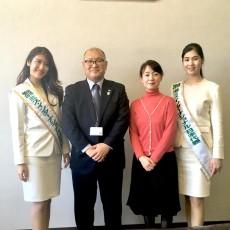 秋田県仙北市の門脇市長を表敬訪問