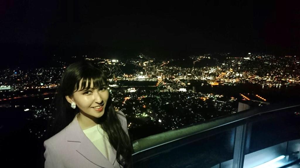 香港、モナコと共に、世界新三大夜景として認定された長崎の夜景。稲佐山から絶景!